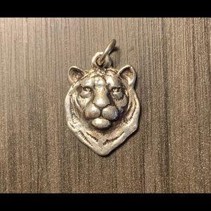 Retired rare James Avery lion head charm